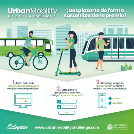 La Universidad de Salamanca se adhiere al reto Urban Mobility Challenge 2020