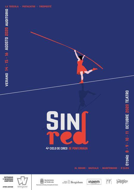"""Festival de circo """"Sin Red"""" 2020"""