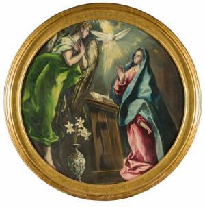 La Anunciación El Greco