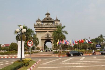 Patuxai, Vientianne