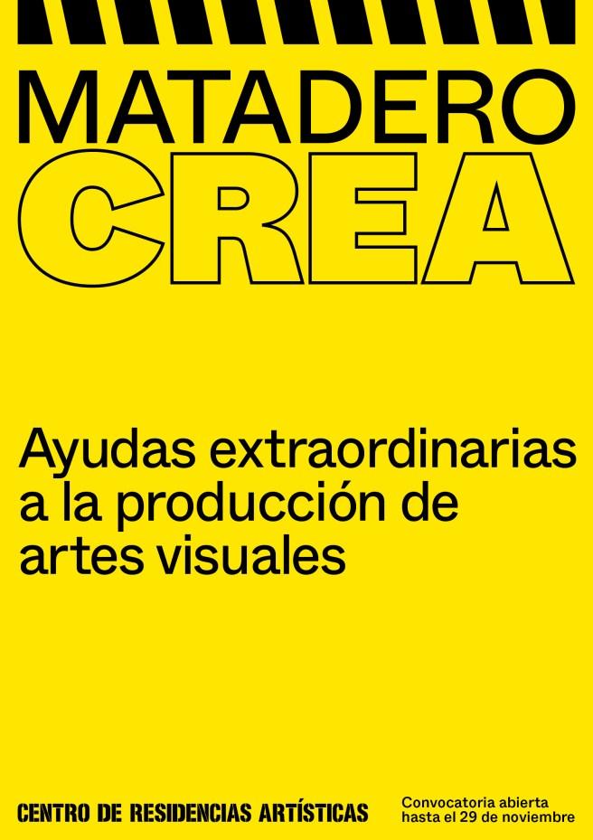 El Ayuntamiento de Madrid convoca ayudas a la producción artística en Matadero