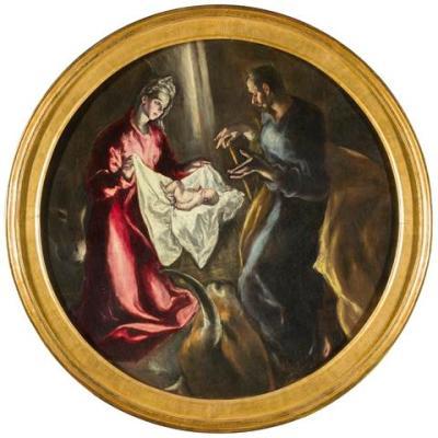 La Natividad El Greco