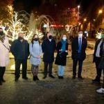 inauguración de la iluminación de Navidad de Salamanca 2020