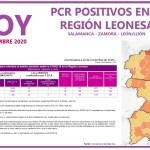PCR COVID19 A 26 NOVIEMBRE 2020 REGIÓN LEONESA SALAMANCA, ZAMORA Y LEÓN