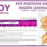 PCR COVID19 A 30 NOVIEMBRE 2020 REGIÓN LEONESA SALAMANCA, ZAMORA Y LEÓN