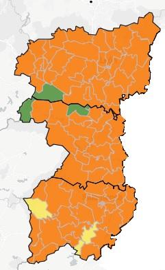 mapa covid 12 noviembre 2020 en salamanca zamora y león region leonesa
