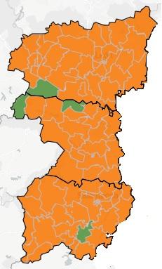 mapa covid 10 noviembre 2020 en salamanca zamora y león region leonesa