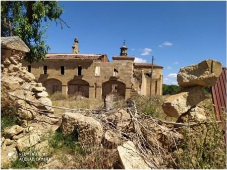 El convento de la Caridad de Sanjuanejo de Salamanca entra en la Lista Roja de Patrimonio