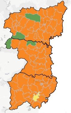 situación covid region leonesa salamanca, zamora y león a 8 de noviembre de 2020