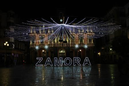 iluminación navideña de Zamora