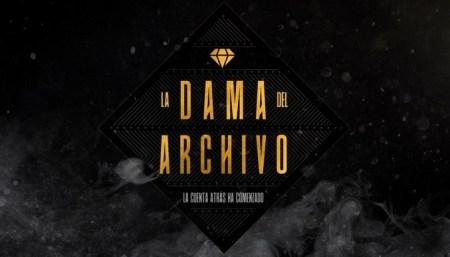 LA DAMA DEL ARCHIVO PORTADA