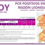 PCR COVID19 A 10 DE DICIEMBRE 2020 REGIÓN LEONESA SALAMANCA, ZAMORA Y LEÓN