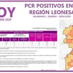 PCR COVID19 A 4 DE DICIEMBRE 2020 REGIÓN LEONESA SALAMANCA, ZAMORA Y LEÓN
