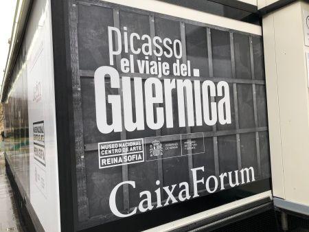 exposición Picasso. El viaje del Guernica.