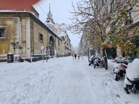 madrid nevado