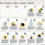 calendario científico