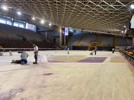 El Ayuntamiento de León pone a punto las instalaciones deportivas