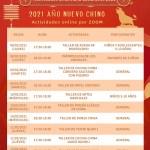 2021 Cartel Semana Cultural del Año Nuevo Chino