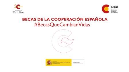 becas de la cooperación española.