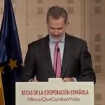 La Cooperación Española lanza su portal de becas en un acto presidido por los Reyes