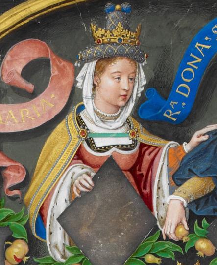María (Oneca) de Pamplon - The Portuguese Genealogy (Genealogia dos Reis de Portugal)