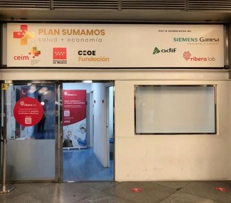 Adif cede espacios en Puerta de Atocha y Chamartín Clara Campoamor