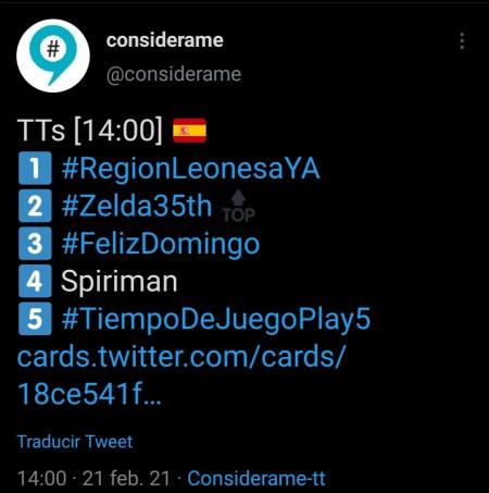 La Región Leonesa se convierte en la principal tendencia de Twitter en España