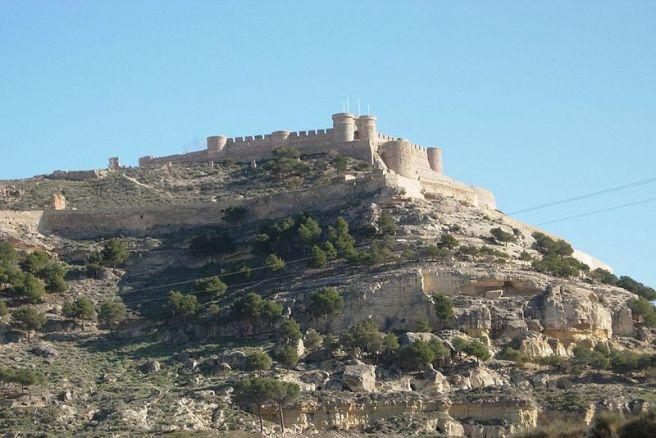 Castillo de Chinchilla de Montearagón.