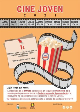 campaña de Cine Joven Zamora