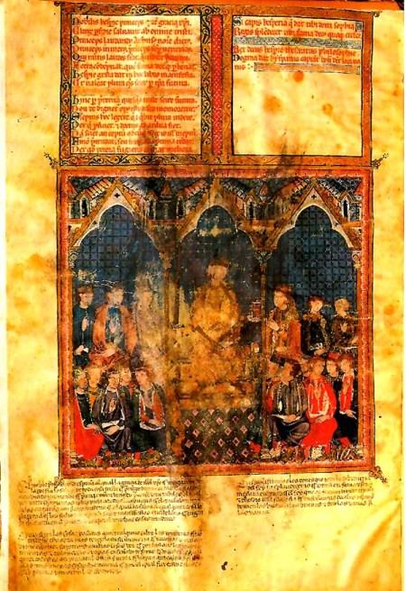 Estoria de España del rey Alfonso X