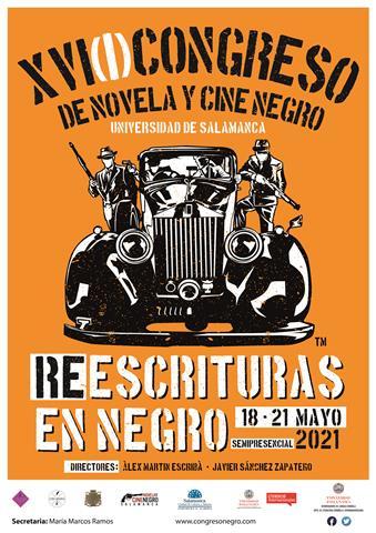 XVI(I) Congreso de Novela y Cine Negro de la Universidad de Salamanca