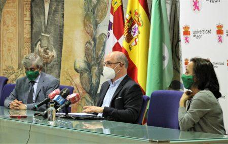 Juan Francisco García Marín, José Luis Placer y Ana Isabel García