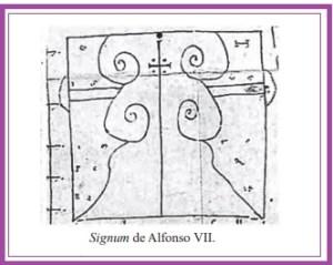 signum Alfonso VII