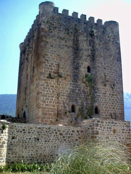 "Torre medieval de los Velasco en Lezana de Mena, plena ""Bardulia""."