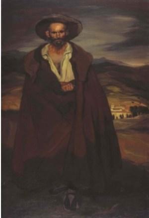 El Segoviano' de Zuloaga en el Museo de Salamanca
