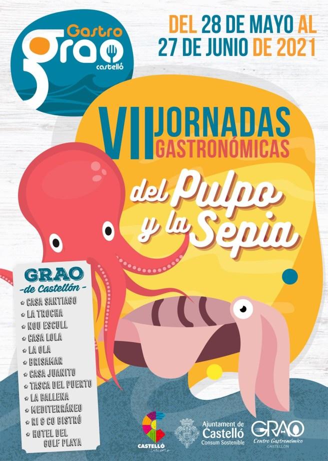 JORNADAS GASTRONOMICAS PULPO Y SEPIA de Castellón