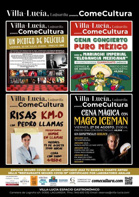 ComeCultura by Villa-Lucía