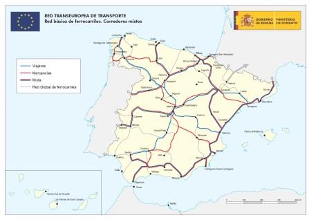 RED TRANSEUROPEA DE TRANSPORTE