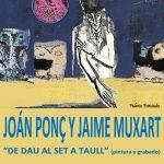 Cartel exposición de Ponçs y Muxart