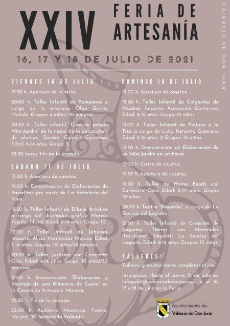 XXIV Feria de Artesanía Valencia de Don Juan