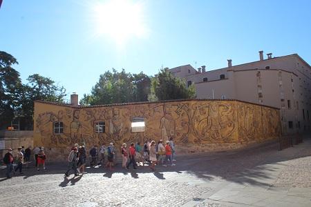 Las figuras del Cerco de Zamora protagonizan el nuevo mural