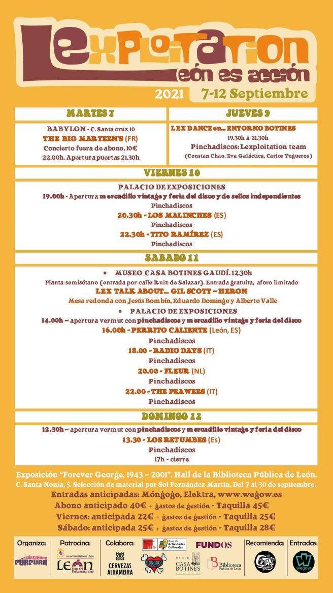 Festival LEXPLOITATION- LEÓN ES ACCIÓN