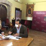 eunión Diputación Alba Tormes. Actos Santa Teresa