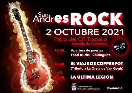 San Andrés Rock