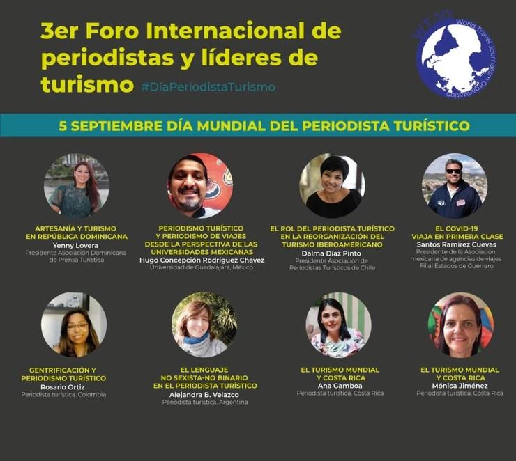 Día Mundial del Periodista Turístico 5 de septiembre
