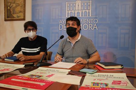Bonos comercio solidario Zamora