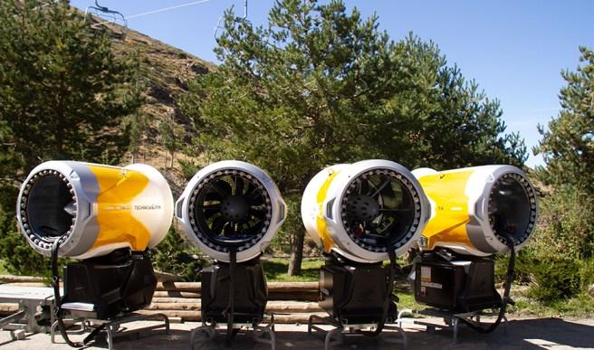 cañones estación de esquí de Sierra Nevada