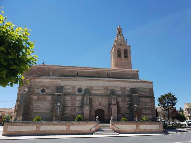 restauración de la torre de la iglesia del Salvador de Rágama