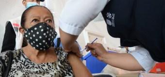 Comenzará vacunación contra Covid-19 para adultos de 50 a 59 años en la Cuauhtémoc
