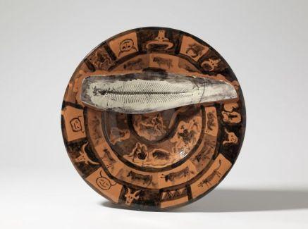 Picasso plat poisson barcelone 1957